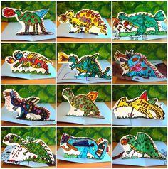 BUSCANT IDEES: RECURSOS PER SANT JORDI Primary School Art, Elementary Art, Animal Art Projects, Dinosaur Crafts, Creative Workshop, Arts Ed, Art Education, Kids Playing, Art Lessons