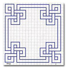 Blue geometric graph paper blue Geometric geometricdrawing graph Paper Blue geometric graph paper is part of Graph paper drawings - Graph Paper Drawings, Graph Paper Art, Art Drawings, Graph Paper Journal, Pencil Drawings, Motifs Blackwork, Blackwork Embroidery, Geometric Drawing, Geometric Art