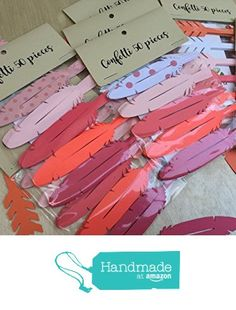 Cardstock Feather Confetti - Boho Party Decor -Tribal Baby Shower Decor - Tribal Birthday Decor - Boho Baby Shower - Table Decor - long die cut cardstock confetti - 50 Pieces - Coral Pink Set *** You can find more details by visiting the image link. Tribal Theme, Boho Theme, Boho Decor, Baby Shower Table Decorations, Birthday Decorations, Babyshower, Peanut Baby Shower, Hippie Baby, Hippie Chic