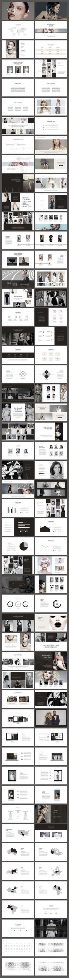 Vela PowerPoint Template by SlideStation on @creativemarket
