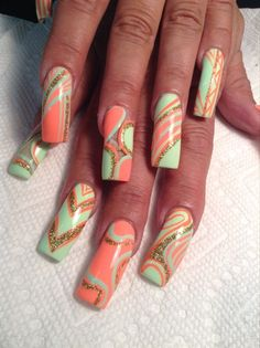 Lime by AlysNails - Nail Art Gallery nailartgallery.nailsmag.com by Nails Magazine www.nailsmag.com #nailart
