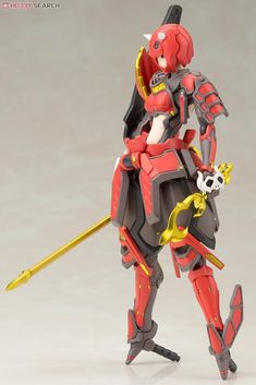 [close] Akaonihime Shiki (Plastic model) Item picture3 Character Design References, Character Art, Japanese Robot, Robots Characters, Frame Arms Girl, Robot Girl, Cyberpunk Character, Futuristic City, Robot Concept Art