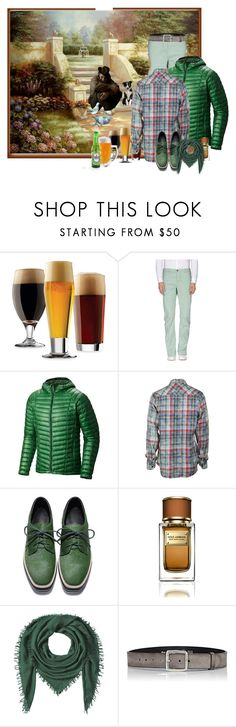 """B Is For...Beer"" by sweetyl ❤ liked on Polyvore featuring Libbey, Closed, Mountain Hardwear, True Religion, Dolce&Gabbana, Faliero Sarti, Felisi, men's fashion and menswear"