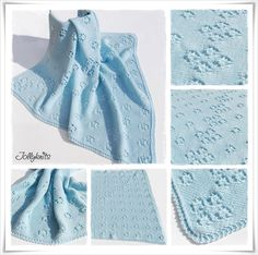 BIMBAM Strickanleitung Babydecke / Knitting pattern for Baby Blanket