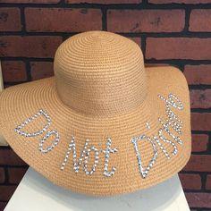 "nice ""Do Not Disturb"" beach hat - $24.  #badmadge #badmadgeandcompany #hat #donotdist...  ""Do Not Disturb"" beach hat - $24.  #badmadge #badmadgeandcompany #hat #donotdisturb #beachhat #sunhat #southparksd #shopsonfern..."