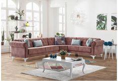 Γωνιακός chesterfield καναπές κρεβάτι Φ-100103 Chesterfield, Decor, Furniture, Sofa, Home, Couch, Home Decor