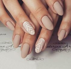 nails, manicure, and Nude image  www.daintyhooligan.com