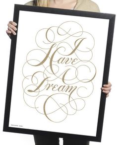 $14 I Have A Dream Print – Sevenly
