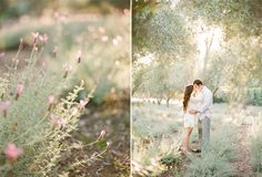 Nichole + Jason, Whimsical Engagement Session at San Ysidro Ranch