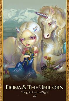 Blue Angel Publishing - Oracle of the Shapeshifters - Lucy Cavendish - Artwork by Jasmine Becket-Griffith. Art style DIY inspiration. Please choose cruelty free vegan art supplies