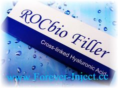 Package 1ml/piece Rocbio filler Stabilized Cross-linked hyaluronic acid gel sterile gel 25mg/ml. No animal ingredients?Used in Plastic surgery operation for wrinkles correction and lips enhancement and so on.