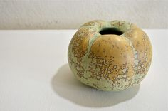 yellow - ceramic - porcelain from Limoges - Yves Lambeau