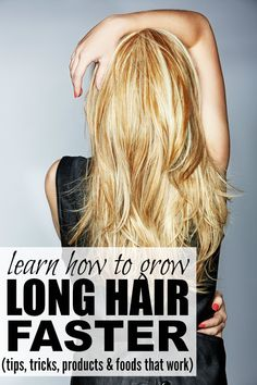 Whether you have short, medium length, or long hair, you will LOVE this collection of tutorials that will teach you how to grow long hair FAST!