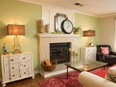 As seen on HGTV's Brother Vs Brother.  Episode 2: #TeamJonathan Living Room