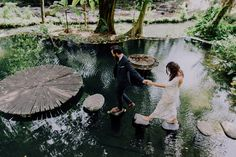 This elopement in Bali is beyond picture-perfect| Image by Apel Photography