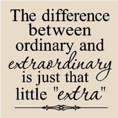 extraordinary!