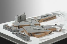 Westside Shopping and Leisure Centre  Bern, Switzerland  Concept model