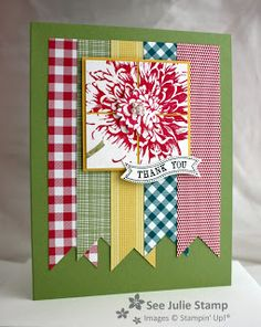 See Julie Stamp - Julie Wadlinger, Stampin' Up! Demonstrator : Blooming with Kindness - Fusion11