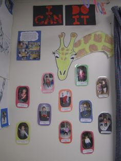 Turning A Classroom into Eric Carle's From Head to Toe
