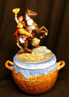 Ride em Cowgirl Cookie Jar