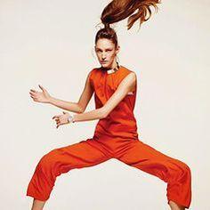 FASHIONCOPIOUS: 'Jump Around' Franzi Mueller by Duy Vo for Vogue Netherlands May 2014