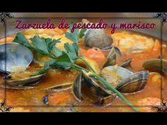 Zarzuela de pescado y marisco   Javier Romero Cap. 66 - Temporada 1 - YouTube