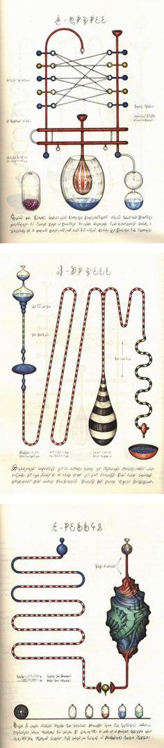 Luigi Seraphini Codex Seraphinianus