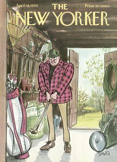 The New Yorker - Saturday, April 18, 1970 - Issue # 2357 - Vol. 46 - N° 9 - Cover by : Charles Saxon