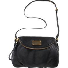 Marc by {Marc Jacobs}. Simple black shoulder bag