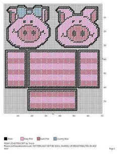 PIGGY COASTER SET by TRICIA