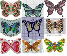 -butterfly bead weaving patterns