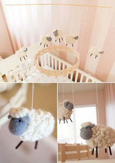 Lamb Mobile Now That S Just Downright Adorable Baby Room Sheep