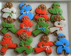 Chelsea Baker:  Ninja bread cookies!  So cute.