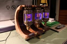 I so want to make one of these. Will probably inspire me to finally learn how to work with electronics.