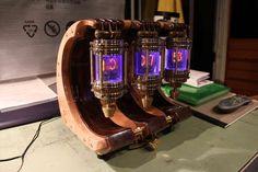 Nixie Lantern clock