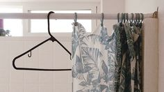 Make Hangers and Shower Curtains Glide with Wax Paper by lifehacker: A simple, cheap trick that takes only minutes. #Wax_Paper #Shower_Curtain_Glide #lifehacker