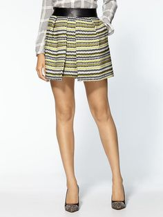 Dig the print on this Milly skirt- very professional, would love great with black pumps and tights for a night out.