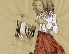 Maria Gripe Books by Lina Kusaite, via Behance