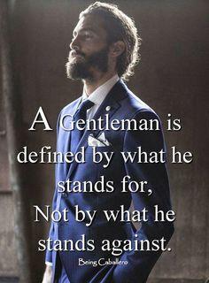 Being Caballero: Be Defined By What You Love, Not By What You Hate. . . . . . der Blog für den Gentleman - www.thegentlemanclub.de/blog