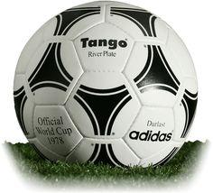 202fdc8881 adidas Tango River Plate 1978 Argentina (historical match ball set) Futebol