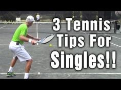 http://fundamentalsoftennis.com/free-tennis-lessons Below are 3 tennis tips from Coach Tom Avery from that will help you with your tennis strategy.  1.)  Keep the ball deep.  2.)  When in doubt hit the ball crosscourt.  3.)   When attacking the net, shade towards the down the line pass.