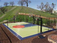 Sport Court® Northern California builds and installs inndor & outdoor courts & athletic flooring for both residential and commercial use. Second Story Deck, Backyard Basketball, Backyard Projects, Backyard Ideas, Sports Court, Basketball Court, Paros, Northern California, Outdoor Spaces