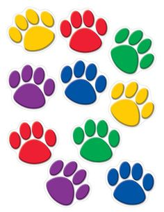 - Red Paw Prints Accents, Use this decorative artwork to dress up classroom walls and doors, label bins and desks, or accent bulletin boards. Classroom Walls, Classroom Decor, Classroom Discipline, Birthday Charts, Teacher Created Resources, Clipart, Planer, Coloring Pages, Paw Prints