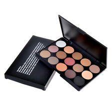 15 Colors Shimmer Eye Shadow Palette Warm Nude Matte Makeup Cosmetic Concealer
