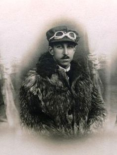 Alberto Santos-Dumont (1873-1932) was a Brazilian aviation pioneer who spent most of his adult life in Paris. He designed and flew the first practical dirigible winning a prestigious prize on 19 October 1901 flying around the Eiffel Tower. He constructed a heavier-than-air aircraft that he flew on 23 October 1906, the first such flight in Europe. In Brazil he is a national hero credited as the father of aviation. He developed multiple sclerosis and either committed suicide or was murdered