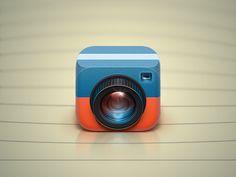 iOS App icon for the future app by Roman Rudnik   IconDesignLAB #cute & #nice app ;)