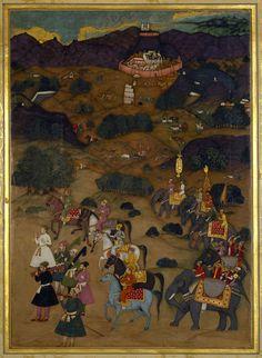 Shah-Jahan visits the shrine of Khwaja Mu'inuddin Chishti at Ajmer (November 1654)