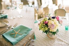 cute small floral centerpieces  (@GARY YANG).