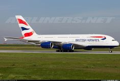 British AIrways F-WWSK / G-XLEA Airbus A380-841 aircraft picture