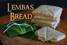 Suggestion, consider adding a spice or flavoring to your Lembas Bread dough.  Here are some suggestions:  Vanilla-extract, Lemon or Orange-peel, Cinnamon, Orange-blossom extract (you may get this in an Asian supermarket), Rose extract (also available in an Asian supermarket)